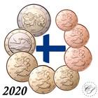 Suomi 1s - 2 € 2020 BU