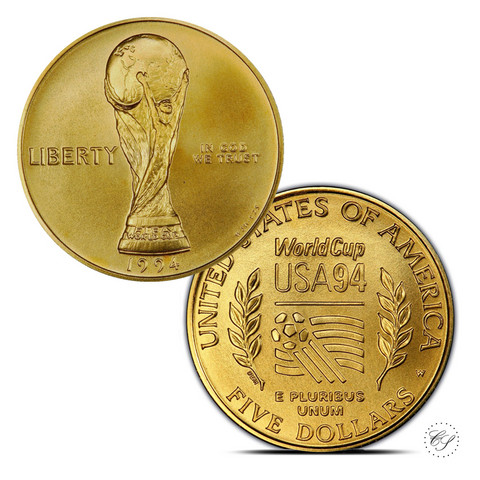 USA 1994 Jalkapallo - World Cup ¼ oz KULTA (puolikotka)