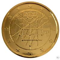 Suomi 2 € 2020 Turun yliopisto 100 vuotta, kullattu