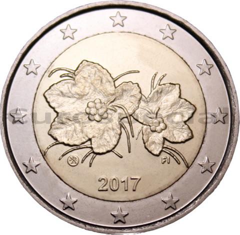 Suomi 2 € 2017 Lakka UNC, kullattu
