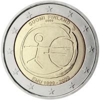 Suomi 2 € 2009 EMU, kullattu