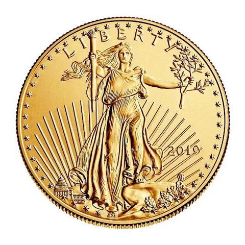 American Eagle ¼ oz 2007 kultakolikko