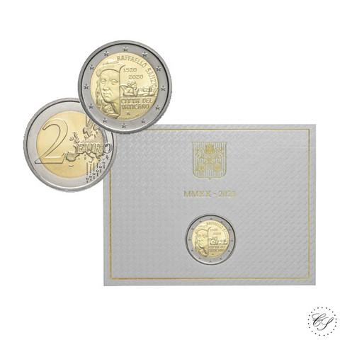 Vatikaani 2 € 2020 Raffaello BU