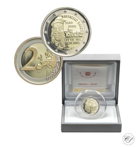 Vatikaani 2 € 2020 Raffaello, Proof