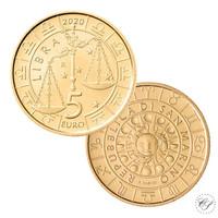 San Marino 5 € 2020 Zodiac - Vaaka UNC