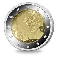 Belgia 2 € 2020 Jan van Eyck BU