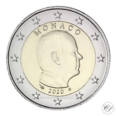 Monaco 2 € 2020 Albert II