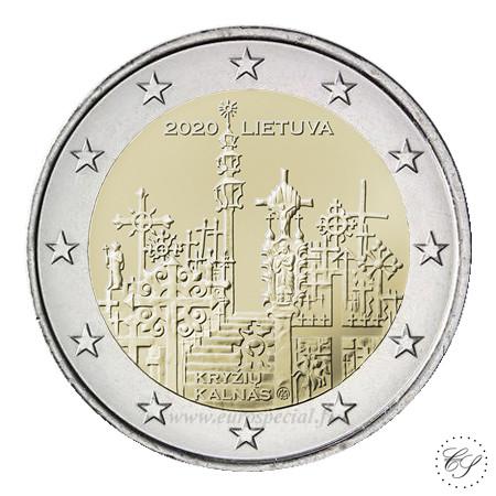 Liettua 2 € 2020 Ristikukkula