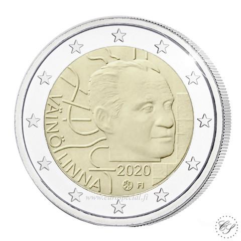 Suomi 2 € 2020 Väinö Linna 100 vuotta UNC