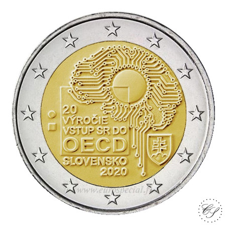 Slovakia 2 € 2020 OECD 20 vuotta