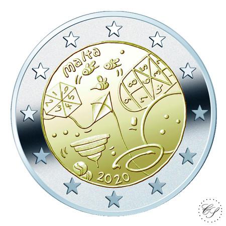 Malta 2 € 2020 Pelit