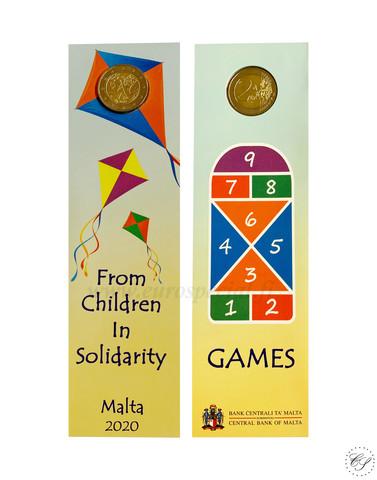 Malta 2 € 2020 Pelit, MdP, BU coincard