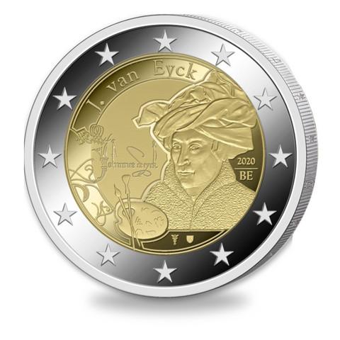 Belgia 2 € 2020 Jan van Eyck, Proof
