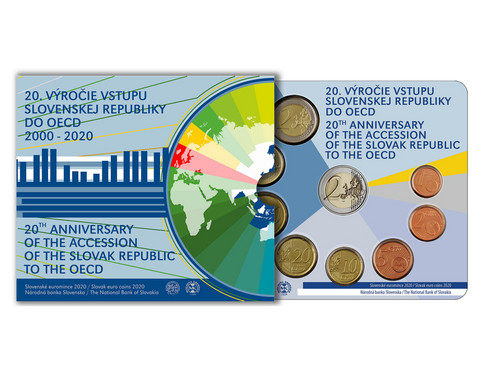Slovakia 2020 BU rahasarja OECD 20 vuotta