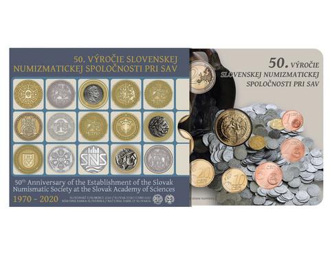 Slovakia 2020 BU rahasarja Numismatiikka