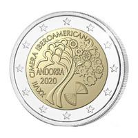Andorra 2 € 2020 Iberoamerikkalainen huippukokous, BU
