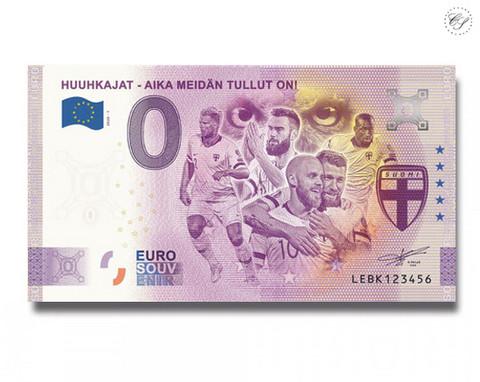 Suomi 0 € 2020 Huuhkajat - Aika meidän tullut on