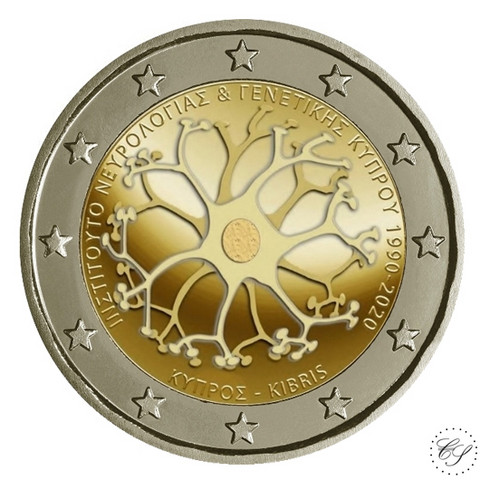 Kypros 2 € 2020 Neurologia & Genetiikka