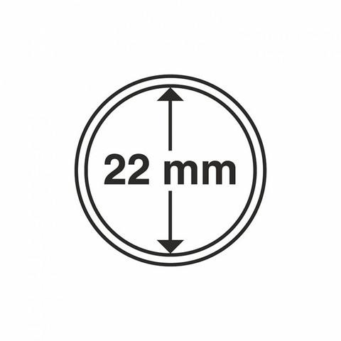 Kolikkokapseli CAPS22 (¼ oz kultarahoille) 10 kpl