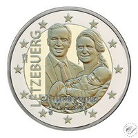 Luxemburg 2 € 2020 Prinssi Charles, normaali versio