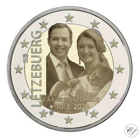 Luxemburg 2 € 2020 Prinssi Charles, kuvajäljitelmäversio
