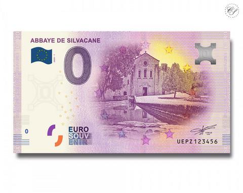 Ranska 0 € 2020 Silvacanen luostari -juhlavuosiversio UNC