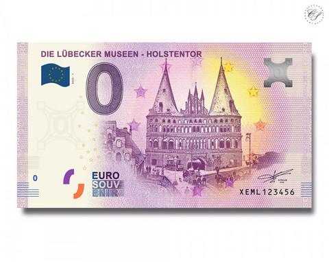 Saksa 0 € 2020 Lyypekki & Holstentor UNC