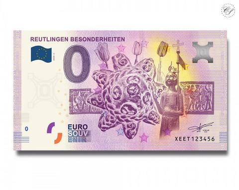 Saksa 0 € 2020 Reutlingerin museo UNC