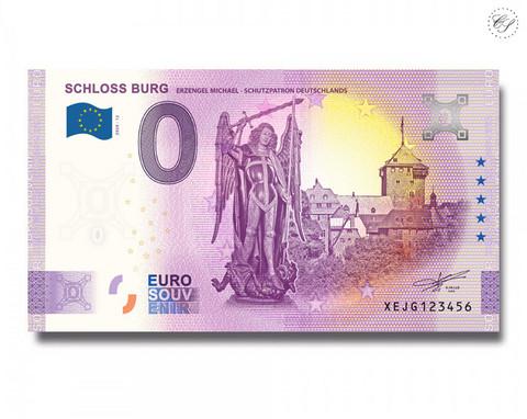 Saksa 0 € 2020 Burgin linna -juhlavuosiversio UNC