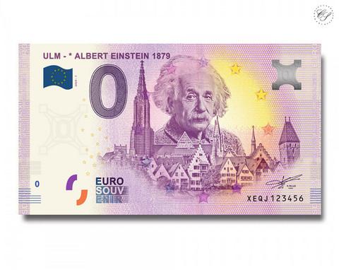 Saksa 0 € 2020 Albert Einstein UNC