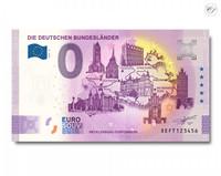 Saksa 0 € 2020 Saksan osavaltiot & Mecklenburg UNC