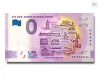 Saksa 0 € 2020 Saksan osavaltiot & Baden-Württemberg UNC