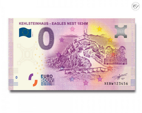 Saksa 0 € 2020 Kotkanpesä 1864 UNC