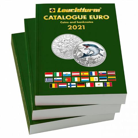 Leuchtturm Eurokatalog 2021, englanti