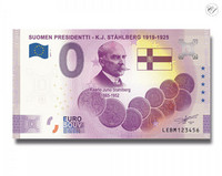 Suomi 0 € 2021 K.J. Ståhlberg - Suomen Presidentit Special Edition UNC