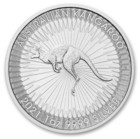 Australia 2021 Kenguru 1 oz hopearaha