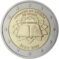 Irlanti 2 € 2007 Rooman Sopimus