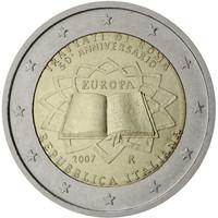 Italia 2 € 2007 Rooman Sopimus