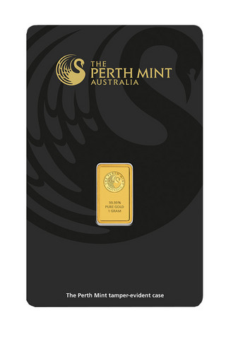 Kultalaatta 1 g Kenguru - Perth Mint