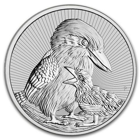 Australia 2020 Kookaburra & sukupolvi 2oz hopearaha