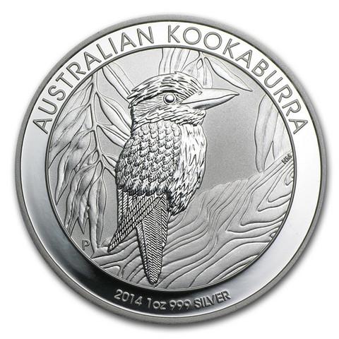 Australia 2014 Kookaburra hopearaha 1 unssi