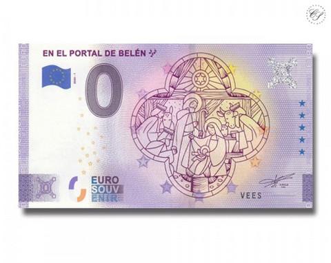 Espanja 0 € 2020 Seimiasetelma -juhlavuosiversio UNC
