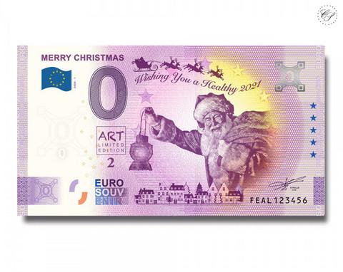 Malta 0 € 2020 Hyvää Joulua! -Juhlavuosiversio UNC