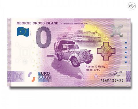 Malta 0 € 2020 George Cross Island UNC