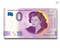 Portugali 0 € 2020 Amália Rodriguesin muotokuva -Juhlavuosiversio UNC
