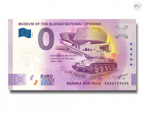 Slovakia 0 € 2020 Slovakian kansannousun museo UNC