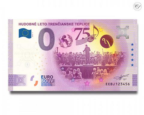Slovakia 0 € 2020 Teplicen kesämusikaali 75v UNC