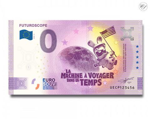 Ranska 0 € 2020 Futuroscope: Aikakone  -juhlavuosiversio UNC