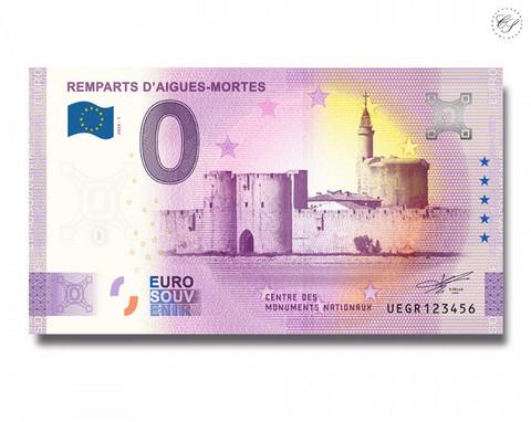 Ranska 0 € 2020 Aigues-Mortesin vallit -juhlavuosiversio UNC