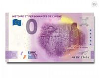 Ranska 0 € 2020 Aisnen historia -juhlavuosiversio UNC